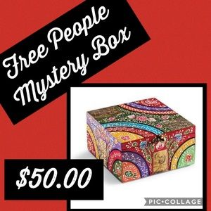 FREE PEOPLE MYSTERY BOX Will not disappoint.